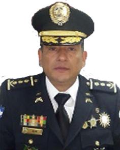 Comisionado de Policía José Amílcar Mejía Rosales de la Policía Nacional de Honduras