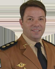 Coronel Mauro Celso Monteiro de la Policía Militar de Parana