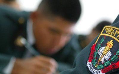 Formación policial ahora incluirá diplomado de posgrado y maestrías